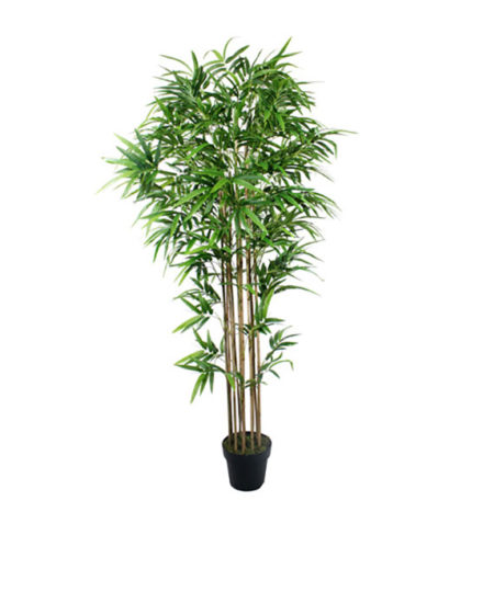 Realistic looking artificial fake tree used in offices, home and plantscaping for sale and bulk purchase online - bamboo