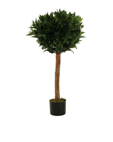 Realistic looking artificial fake tree used in offices, home and plantscaping for sale and bulk purchase online - bay tree