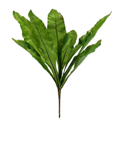 Birdsnest fern fake artificial silk house plant for use in office and plantscaping for sale and bulk purchase online.