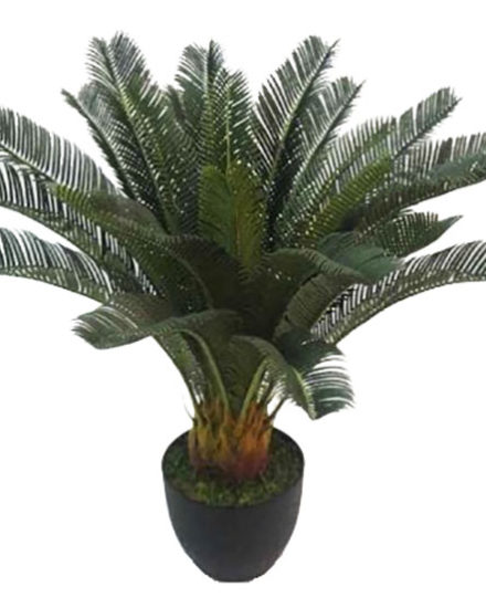 cycas artificial palm fake artificial silk house plant for use in office and plantscaping for sale and bulk purchase online.