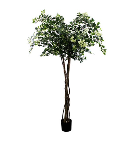 Realistic looking artificial fake tree used in offices, home and plantscaping for sale and bulk purchase online - FLOWERING-TREE-BOUGAINVILLEA