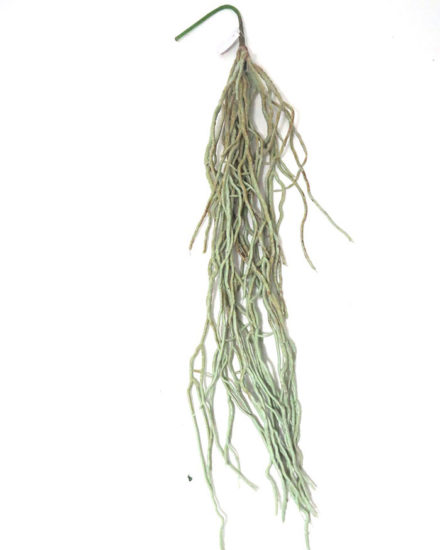 Realistic looking artificial hanging plant used in offices, home and plantscaping for sale and bulk purchase online - ORCHIDS-ROOTS