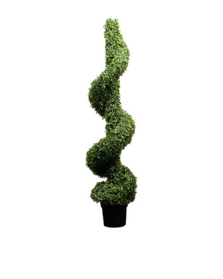 Realistic looking artificial fake tree used in offices, home and plantscaping for sale and bulk purchase online - twirly tree